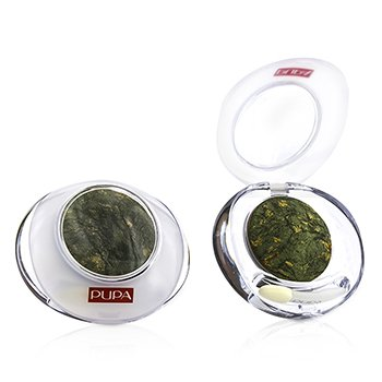 Pupa Luminys Baked Eyeshadow # 08 Oak Green (Unboxed, Label Slightly Defect) (Duo Pack)  2x2.2g/0.78oz