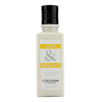 Image of L'Occitane Jasmin & Bergamote Body Milk 175ml/6oz