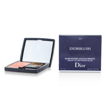 Christian Dior DiorBlush Vibrant Colour Powder Blush – # 676 Coral Cruise 7g/0.24oz