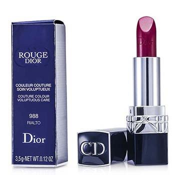 Christian Dior Rouge Dior Couture Colour Voluptuous Care – # 988 Rialto 3.5g/0.12oz
