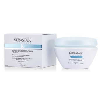 KerastaseSpecifique Sensidote Dermo-Calm Soothing Valming Masque (Sensitive Scalp - All Hair Types) 200ml/6.8oz