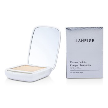 Laneige Forever Definite Compact Foundation SPF 32 - # No. 2 Natural Beige 9g/0.3oz