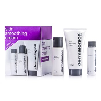 DermalogicaSkin Smoothing Cream Limited Edition Set: Skin Smoothing Cream 100ml + Special Cleansing Gel 50ml + Precleanse 30ml 3pcs