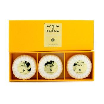Acqua Di ParmaMagnolia Nobile Perfumed Soaps 3x80g/2.8oz