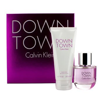 Calvin Klein Downtown Coffret: EDP Spray 90ml/3oz + Body Lotion 200ml/6.7oz 2pcs