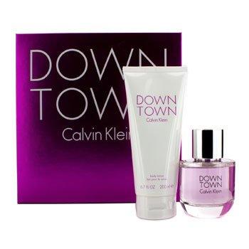 Calvin Klein Downtown Coffret: EDP Spray 90ml/3oz + Body Lotion 200ml/6.7oz 2pcs