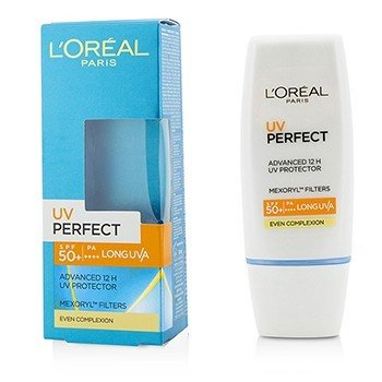 L'Oreal ������� � ����� پ��� 12 ����� Dermo-Expertise UV Perfect �� SPF50+/PA+++ - # ��� ک���� ��� پ���  30ml/1oz