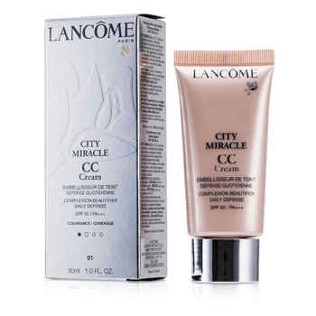 Lancome City Miracle CC ���� SPF 50 - 01 Beige Dragee 30ml/1oz