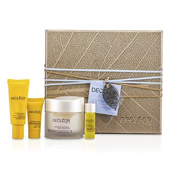 DecleorKit Hidratante Treasure Trove: Hydra Floral Moisturising Cream 50ml + Eye Cream 15ml + Serum 5ml + Night Balm 2.5ml 4pcs