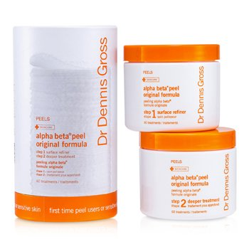 Dr Dennis Gross Alpha Beta Peel - Original Formula (For Sensitive Skin; Jar)  60 Treatments