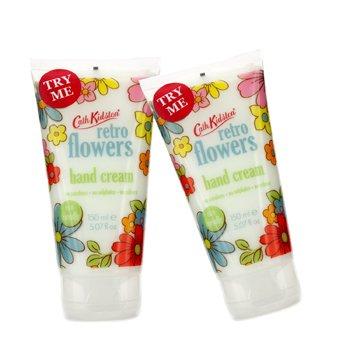Cath KidstonRetro Flowers Crema de Manos Duo Pack 2x150ml/5.07oz
