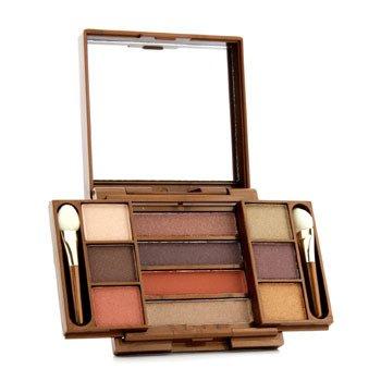 Fashion Fair Multi Level 10 Colors Eye Shadow Compact - # 9857 (Unboxed) 8.7g/0.306oz