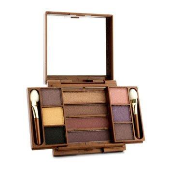 Fashion Fair Multi Level 10 Colors Eye Shadow Compact - # 9855 (Unboxed) 8.7g/0.306oz