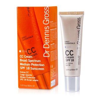 Dr Dennis GrossDaily Essentials CC Cream SPF 18 (Medium to Dark) 30ml/1oz