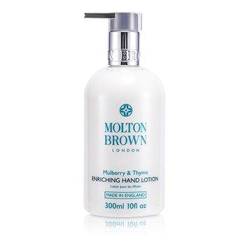 Molton BrownMulberry & Thyme Loci�n de Manos Enriquecedora 300ml/10oz