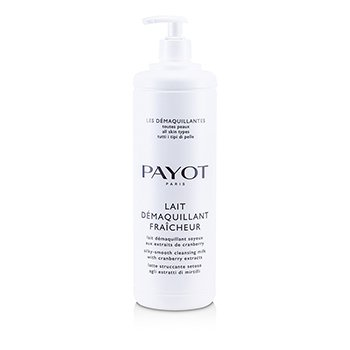 PayotLes Demaquillantes Lait Demaquillant Fraicheur Silky-Smooth Cleansing Milk - For All Skin Types (Salon Size) 1000ml/33.8oz