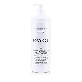 Payot Lait Demaquillant Fraicheur Leche Limpiadora Sedosamente Suave - Para Todo Tipo de Piel (Tama�o Sal�n)  1000ml/33.8oz