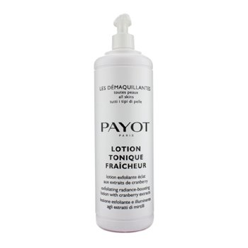 PayotLes Demaquillantes Lotion Tonique Fraicheur Exfoliating Radiance-Boosting Lotion - For All Skin Type (Salon Size) 1000ml/33.8oz