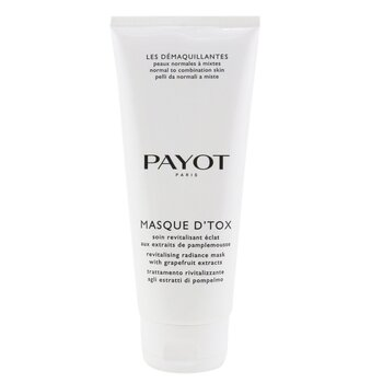 PayotLes Demaquillantes Masque D'Tox Detoxifying Radiance Mask - For Normal To Combination Skins (Salon Size) 200ml/6.7oz