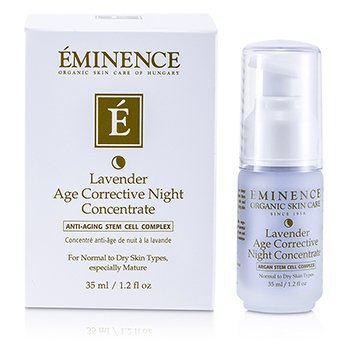 Eminence Lavender Age Corrective Night Concentrate (Normal to Dry Skin  Especially Mature) 35ml/1.2oz