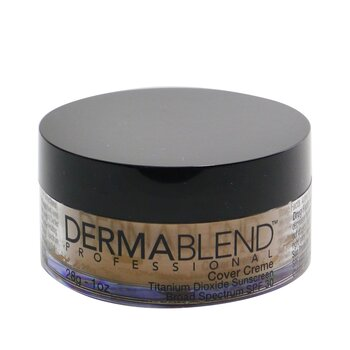 Image of Dermablend Cover Creme Broad Spectrum SPF 30 High Color Coverage  Cafe Brown 28g1oz