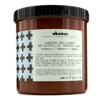 DavinesAlchemic Conditioner Tobacco (For Natural & Mid to Light Brown Hair) 1000ml/33.8oz