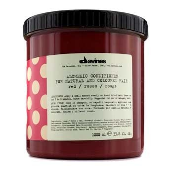 DavinesAlchemic Conditioner Red (For Natural & Red or Mahogany Hair) 1000ml/33.8oz