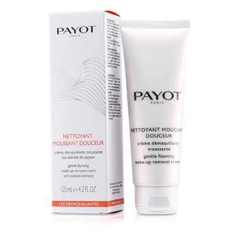 PayotLes Demaquillantes Nettoyant Moussant Douceur Gentle Foaming Make-Up Removal Cream (For Normal To Dry Skins) 125ml/4.2oz