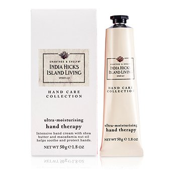 Crabtree & EvelynIndia Hicks Island Living Spider Lily Terapia de Manos Ultra Hidratante 50g/1.8oz