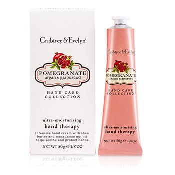 Crabtree & EvelynPomegranate, Argan & Grapeseed Terapia de Manos Ultra Hidratante 50g/1.8oz