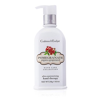 Crabtree & EvelynPomegranate, Argan & Grapeseed Terapia de Manos Ultra Hidratante 250g/8.8oz