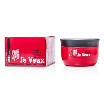 Je Veux Cheveux Professional Revitalizing Hair Mud Mask 250ml/8.45oz