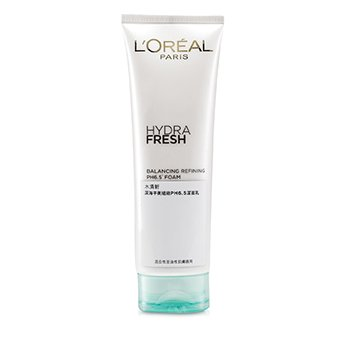 L'Oreal Hydra Fresh Balancing Refining PH6.5 Foam  125ml/4.2oz