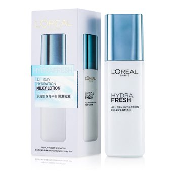 L'Oreal�Hydra Fresh All Day Hydration Milky Lotion 125ml/4.2oz