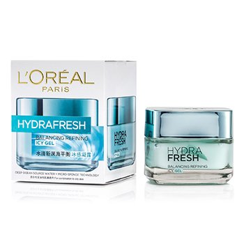 L'OrealHydra Fresh Balancing Refining Icy Gel 50ml/1.7oz
