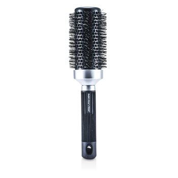 RuskHeat Freak Ionic and Ceramic 2.5inches Round Brush (Black) 1pc