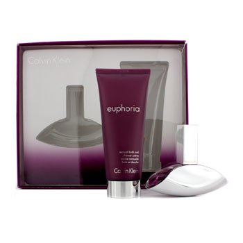 Calvin KleinEuphoria Coffret: Eau De Parfum Spray 30ml/1oz + Crema de Ba�o & Cuerpo 100ml/3.4oz 2pcs