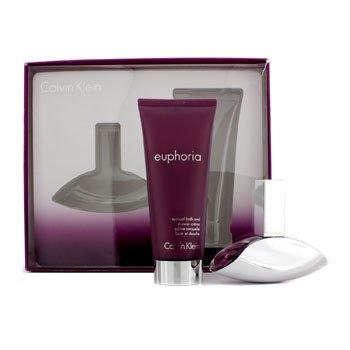 Calvin Klein Bộ Euphoria : EDP 30ml/1oz + Kem Tắm Bồn & V�i Sen 100ml/3.4oz  2pcs
