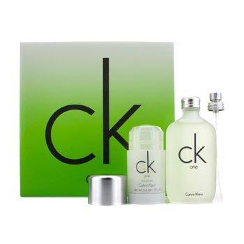CK OneCK One Coffret: Eau De Toilette Spray 100ml/3.4oz + Deodorant Stick 75g/2.6oz 2pcs
