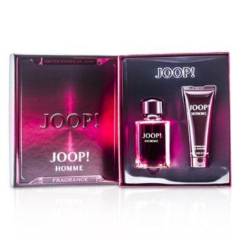 Joop Homme Coffret: Eau De Toilette Spary 75ml/2.5oz + Shower Gel 75ml/2.5oz (Red Box)  2pcs
