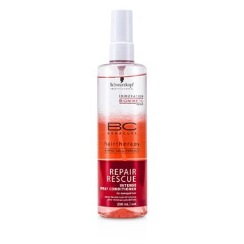 SchwarzkopfBC Repair Rescue Intense Spray Conditioner (For Damaged Hair) 200ml/6.7oz