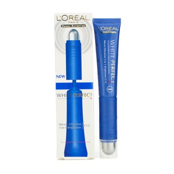 L'Oreal White Perfect Micro-Vibration 3 in 1 Brightener Eye  15ml/0.5oz