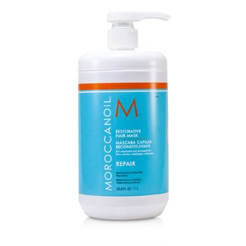 Moroccanoil Restorative Hair Mask - For Weakened and Damaged Hair (Salon Product)  1000ml/33.8oz