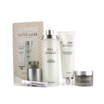 GlotherapeuticsCyto Luxe Collection  Body Lotion Cleanser Mask Mask Applicator 4pcs