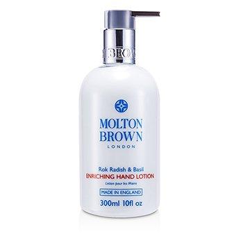 Molton BrownRok Radish & Basil Loci�n de Manos Enriquecedora 300ml/10oz