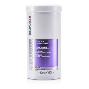 GoldwellDual Senses Blondes & Highlights Intensive Treatment - For Blonde & Highlighted Hair (Salon Product) 450ml/15.2oz