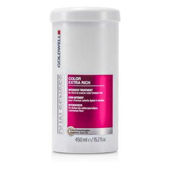 Goldwell Dual Senses Color Extra Rich Intensive Treatment - For Thick to Coarse Color-Treated Hair (Salon Product)  450ml/15.2oz