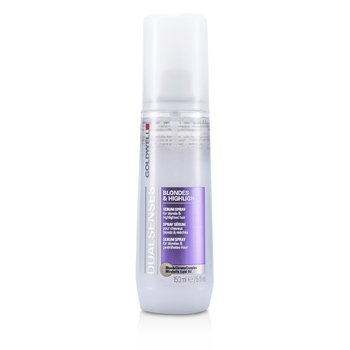 Goldwell Dual Senses Blondes & Highlights Serum Spray - For Blonde & Highlighted Hair (Salon Product) 150ml/5oz