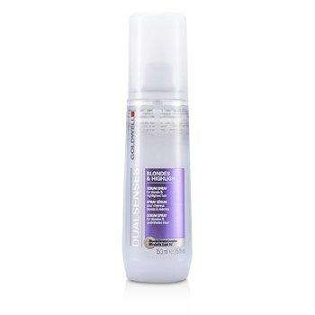 Goldwell Dual Senses Blondes & Highlights Serum Spray - For Blonde & Highlighted Hair (Salon Product)  150ml/5oz