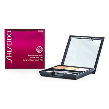 Shiseido Tr�o Color de Ojos Satinados Iluminadores - # BR214 Into The Woods  3g/0.1oz